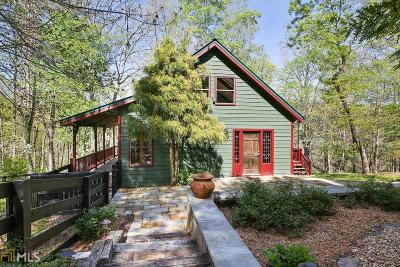 Dawsonville Single Family Home For Sale: 5463 Cowart Rd