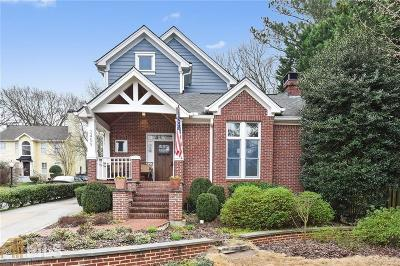 Brookhaven Single Family Home For Sale: 2459 Appalachee Dr