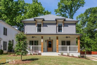 Decatur Single Family Home For Sale: 616 Sycamore Dr