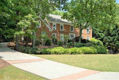 Johns Creek Single Family Home Under Contract: 3600 Glen Crossing Dr