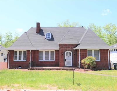 Elberton GA Single Family Home For Sale: $79,900