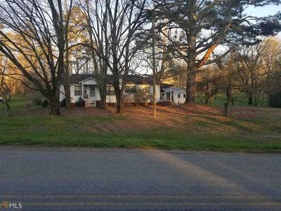Fannin County, Gilmer County Single Family Home For Sale: 581 Burnt Mountain Rd
