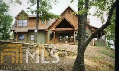 Hiawassee Single Family Home For Sale: 1248 Spaniard Point Rd #11