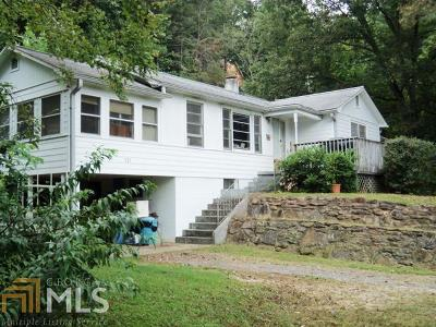 Rabun County Single Family Home For Sale: 921 Wolffork Church Rd #.76 Acre