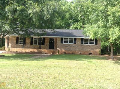 Elbert County, Franklin County, Hart County Single Family Home Under Contract: 126 W Ginn St