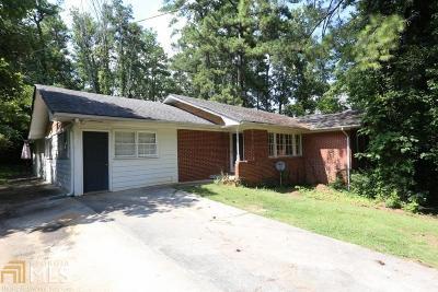 Atlanta Single Family Home New: 2143 Beecher Rd
