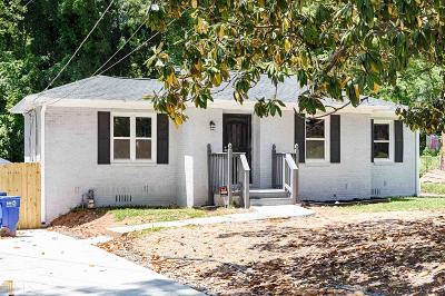 Fulton County Single Family Home For Sale: 1889 Brandywine St