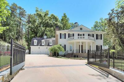 Buckhead Single Family Home For Sale: 4081 Peachtree Dunwoody Rd