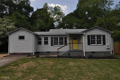 Decatur Single Family Home For Sale: 3394 Beech Dr