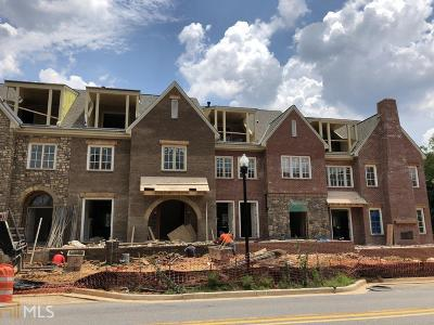 Alpharetta Condo/Townhouse New: 123 Lilly Garden Pl #12