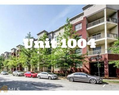Fulton County Condo/Townhouse For Sale: 870 Mayson Turner Rd #1004