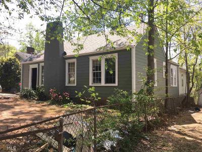 Fulton County Single Family Home For Sale: 1871 Conrad Ave