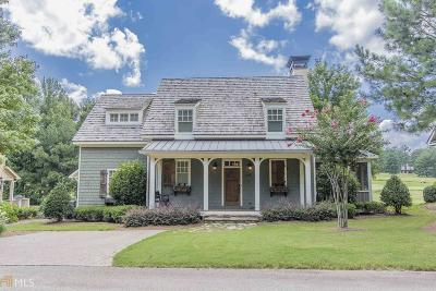 Milledgeville, Sparta, Eatonton Single Family Home For Sale: 140 Long Leaf Ln