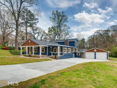 Historic Marietta Single Family Home Under Contract: 399 Cascade Dr