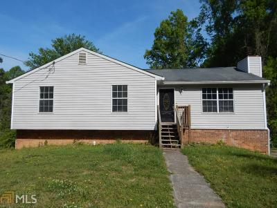 Douglasville Single Family Home New: 2995 Mill Ct