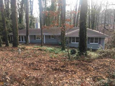 Stone Mountain Single Family Home Under Contract: 519 Susan Creek Dr