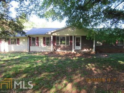 Elbert County, Franklin County, Hart County Single Family Home For Sale: 2000 Cawthon Davis Rd