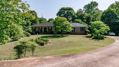 Fairburn Single Family Home Under Contract: 7120 Hobgood Rd