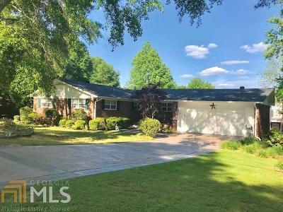 Douglasville Single Family Home New: 8666 Whitley Dr