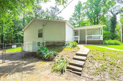 Fairburn Single Family Home Under Contract: 406 Fayetteville Rd