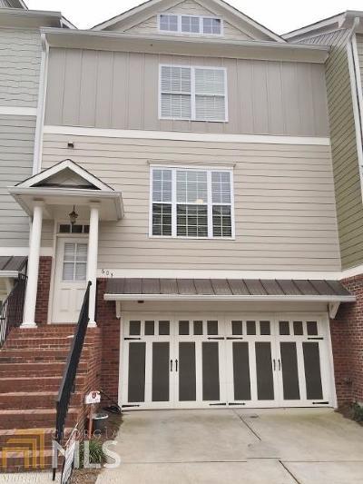 Peachtree City Condo/Townhouse New: 603 Lexington Village