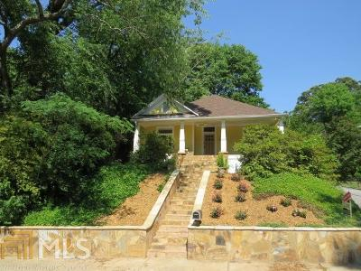 Grant Park Single Family Home For Sale: 688 Hill St