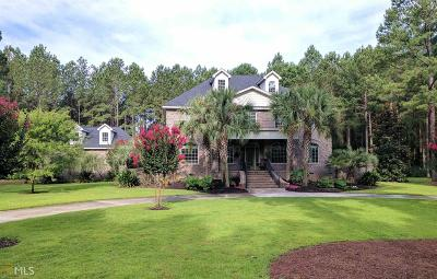 Statesboro Single Family Home New: 1232 Plantation Cir