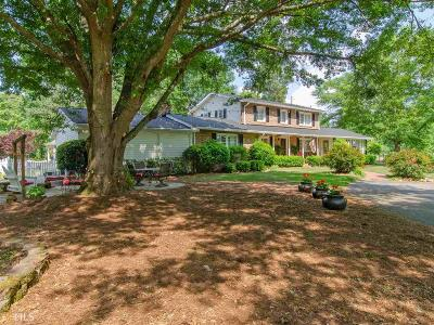 Newnan Single Family Home Back On Market: 2657 Highway 16 W