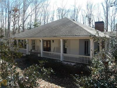 Milton Single Family Home New: 575 Hickory Flat Rd