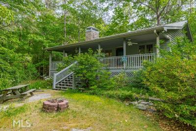 Sautee Nacoochee Single Family Home For Sale: 10 Eagles Nest Rd