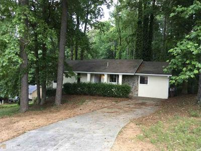 Norcross Single Family Home New: 1548 Hoy Taylor Dr
