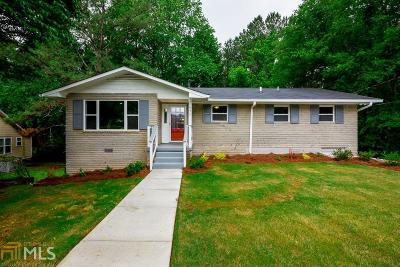 Atlanta Single Family Home New: 677 Plainville Dr