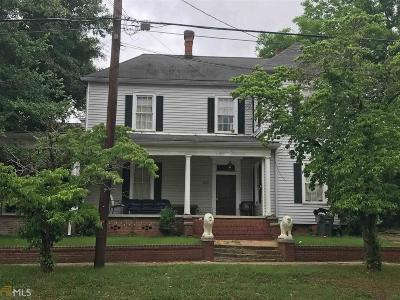 Milledgeville Single Family Home New: 320 N Columbia