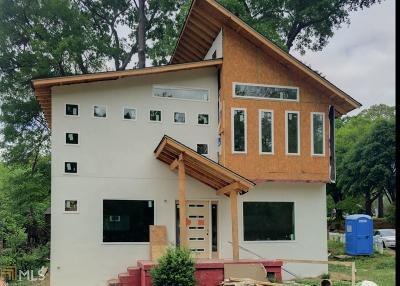 Atlanta Single Family Home New: 1520 Woodbine Ave
