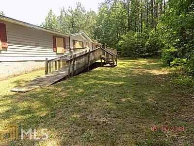 Heard County Single Family Home Under Contract: 165 Riverview Rd