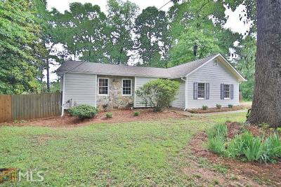 Snellville Single Family Home New: 1038 Olde Hinge Way