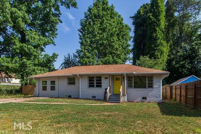 Decatur Single Family Home New: 3382 Lark Ln