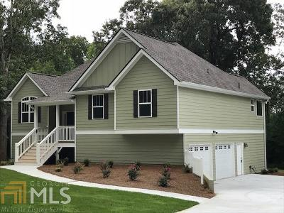 Douglasville Single Family Home New: 8539 Flint Hill Rd #01170350