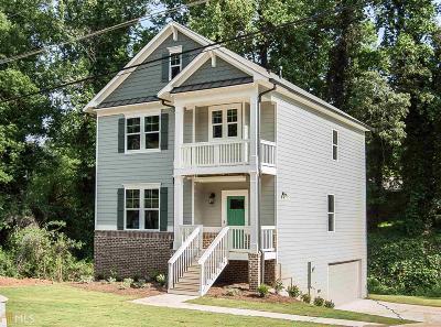 Decatur Single Family Home New: 2023 Garden Cir