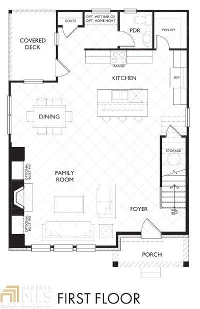 Decatur Single Family Home New: 2031 Garden Cir