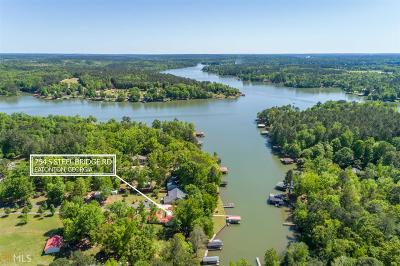 Milledgeville, Sparta, Eatonton Single Family Home For Sale: 754 S Steel Bridge Rd