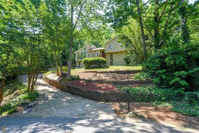 Marietta Single Family Home New: 1510 Rockcrest Way
