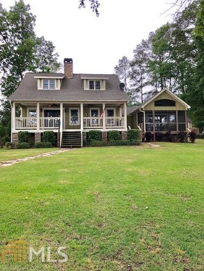Milledgeville, Sparta, Eatonton Single Family Home New: 128 E Lumpkin Rd