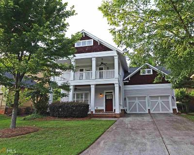Atlanta Single Family Home Under Contract: 1790 Streamview Dr