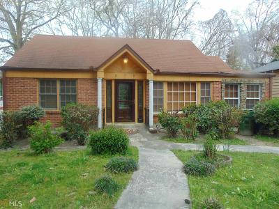 Fulton County Single Family Home For Sale: 476 NW Joseph E Lowery Blvd