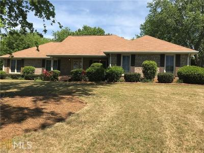 Fulton County Single Family Home For Sale: 260 Saddle Lake Dr