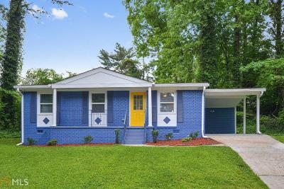 Atlanta Single Family Home New: 3143 Glenrose Ct