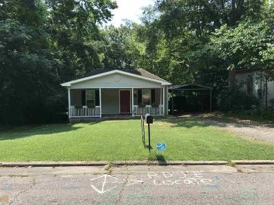 Newnan Single Family Home New: 14 3rd St
