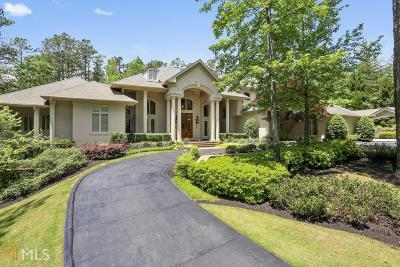 Alpharetta, Milton, Roswell Single Family Home For Sale: 100 Fernwater Ct