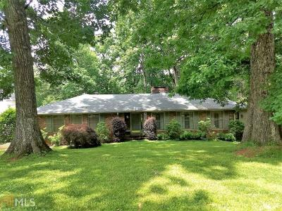 Atlanta Single Family Home New: 155 Pine Lake Dr